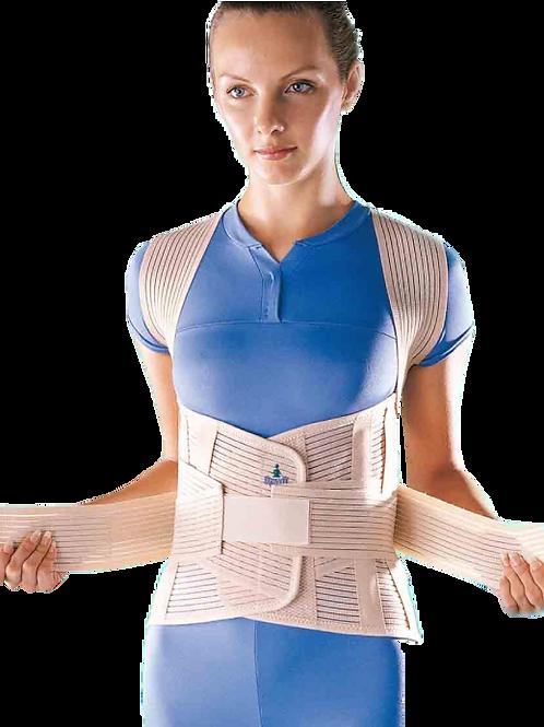 Faja dorso lumbar varillas flexibles para soporte