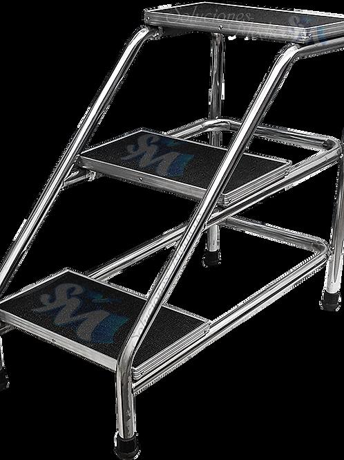 Banqueta escalerilla de altura 3 peldaños MM-ESC3