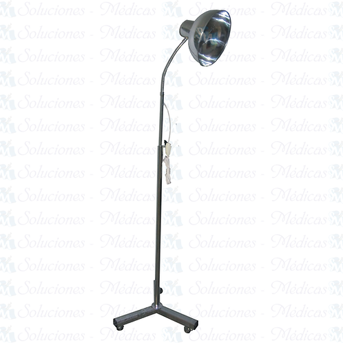 Lámpara de chicote rodable tripie modelo MMLCH01