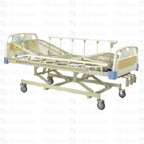 Cama para hospital manual 3 manivelas
