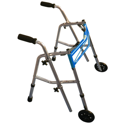 Andadera bidireccional de aluminio infantil