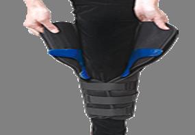 Inmovilizador para rodilla universal de 3 paneles