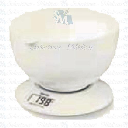 Bascula para cocina con recipiente modeloKS32