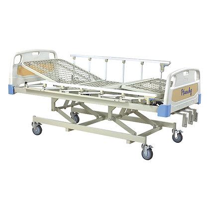 Cama para hospital Manual 3 manivelas eleva respaldo rodillas y altura K-C3031