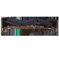 Cama de hospital con colch�n movimiento de altura, respaldo y rodillas R202010