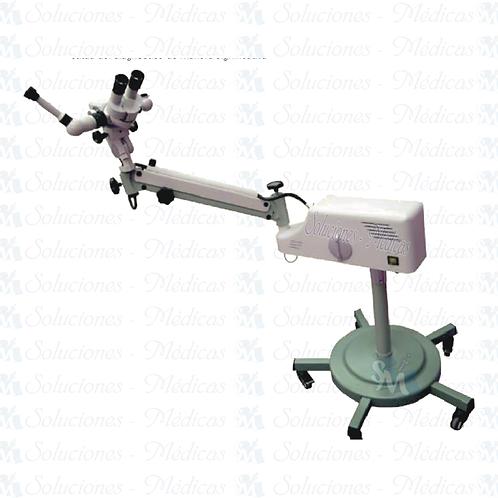 Colposcopio pantográfico de doble lámpara YDJ-III