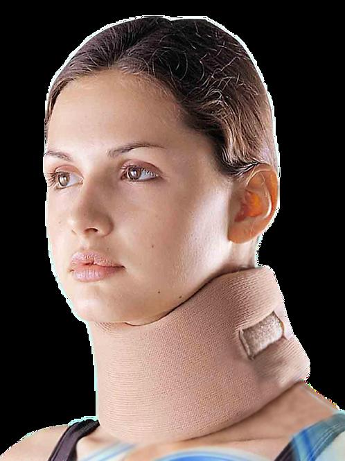 Collarín cervical anatómico a base de esponja