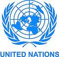 UN, United Nations crest  logo