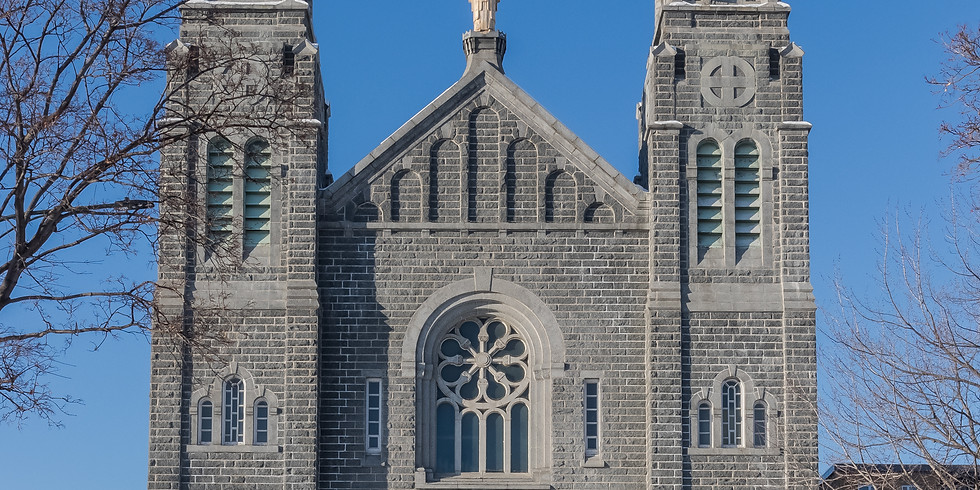 Messe du 12 juin 2021, à 16 h, à Saint-Ignace-de-Loyola