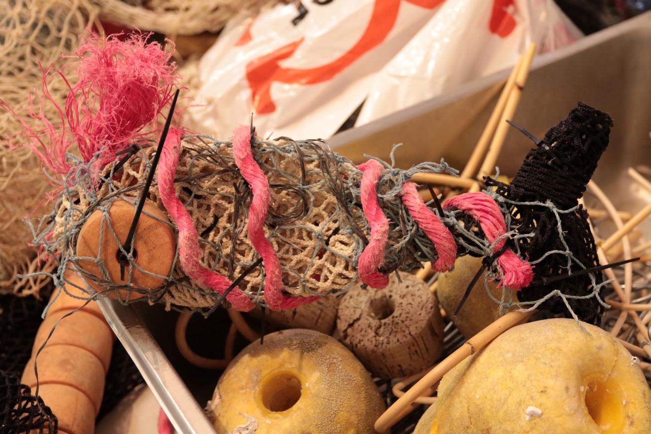 PRIMAL: Ephemeral Eco Art Residency lead by creatives Pam Diment & Sherrie Jones Image credit: Jayne Holland