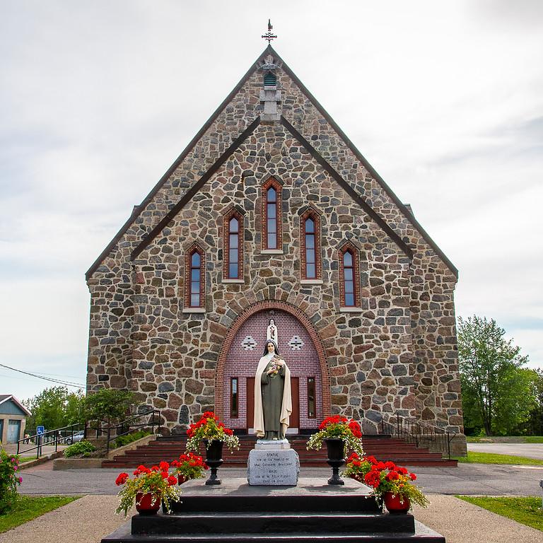 Messe du 26 juin 2021, à 16 h, à Sainte-Thérèse-de-l'Enfant-Jésus