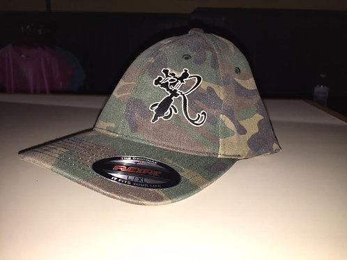 FlexFit Hat R Logo camo