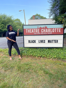 BLM at Theatre Charlotte Summer 2020