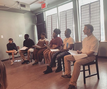 "Reading of ""The Abundance of the Heart (Manhattan, NY)"