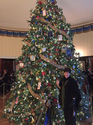 2014 White House Christmas Tour