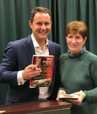 Brian Kilmeade's Book Signing:        Andrew Jackson and The Miracle of New Orleans: The Battle That