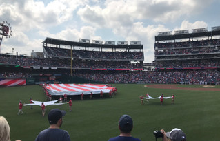 Fourth of July at Nats Stadium