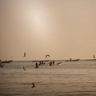 Mbour Retour des pêcheurs