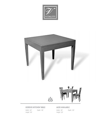 Giorgio Kitchen Table