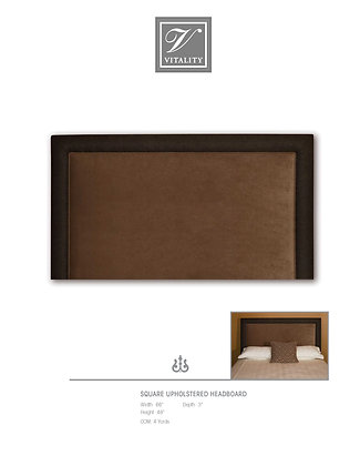 Square Upholstered Headboard