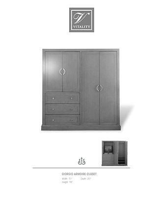 Giorgio Armoire Closet