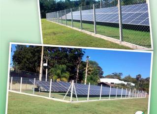 O projeto de Eficiência Energética do Santa Fé, que já opera a alguns meses.
