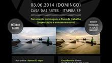 Casa das Artes terá Workshop de Tratamento de Imagens.