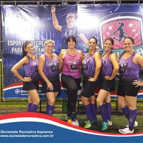 Campeonato de Futebol Society, categorias: Master, Sênior, Principal e Feminino.