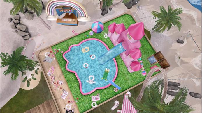 Astralia x Sanrio - Pool Summer friends.