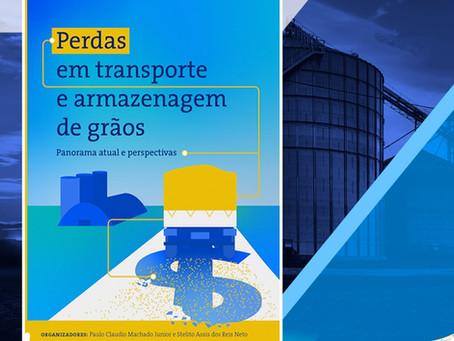 Livro da Conab discute índices de perdas no transporte e armazenagem de grãos