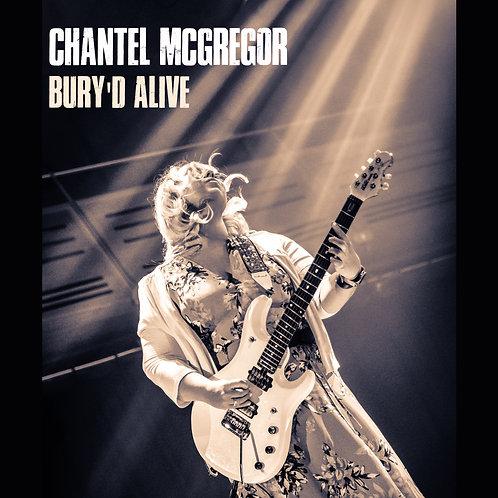 BURY'D ALIVE (LIVE ALBUM CD Digipack)