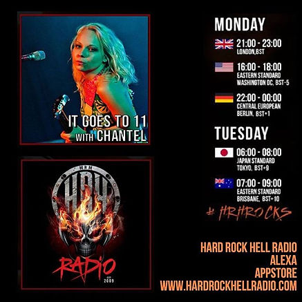 So excited for my 1st @radiohrh show tom