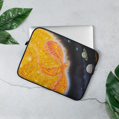 """Solar Phoenix"" Laptop Sleeve"