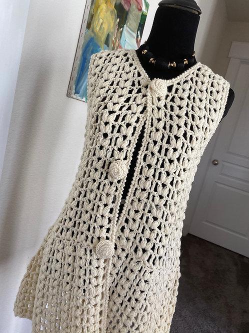 Hippy Dippy Crochet Vest