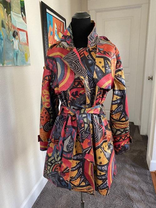 Picasso Midi-Trench Coat