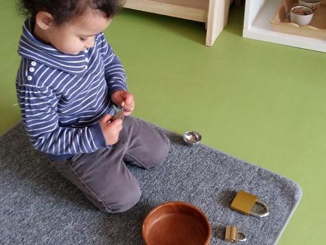 Beaux moments aux Jardin des enfants Montessori