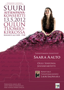 Suuri Äitienpäiväkonsertti 2012