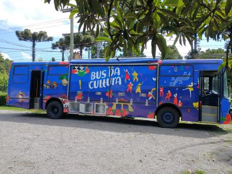 """""""Bus da Cultura"""" é lançado em Gramado"""