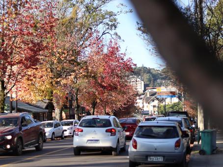 Tarde de outono em Gramado
