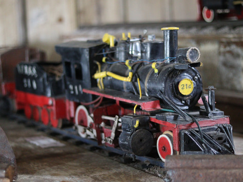 Relíquias da história ferroviária de Gramado