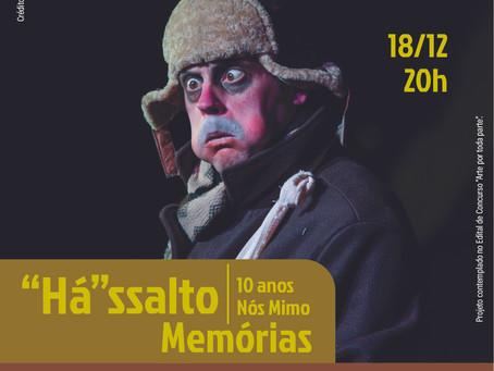Grupo Teatral Nós Mimo celebra 10 anos com programação virtual