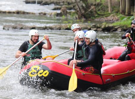 Prática de rafting está liberada em Três Coroas