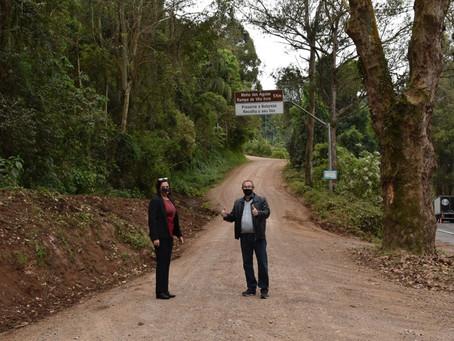 Ninho das Águias terá acesso 100% asfaltado