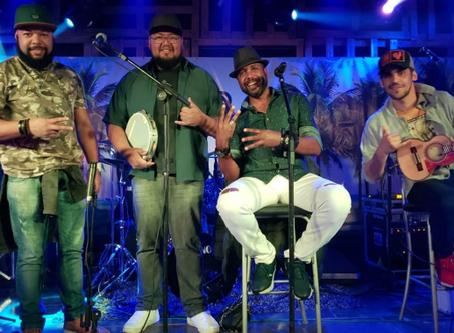 Sexta Live de Canela apresenta  Percussão do Samba