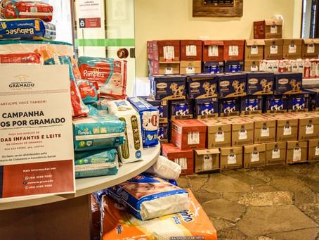 Campanha Juntos por Gramado recebe doações até sábado