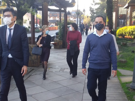 Cônsul japonês visita a Serra Gaúcha