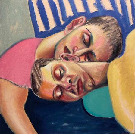Resting together, 2021