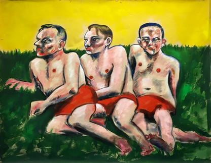 unstretch canvas, 2020,