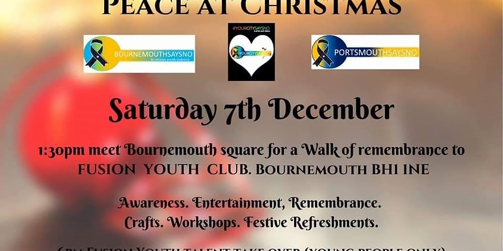 Peace at Christmas - Bournemouth