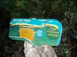 Restored Map of Petit Carenage Mangrove,